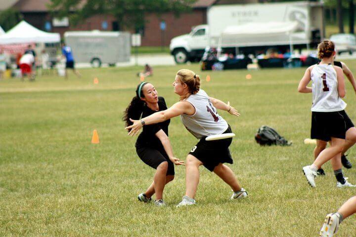 Womens Team Frisbee 2010