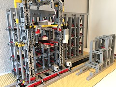 Work in Progress: Large Lego Container Warehouse