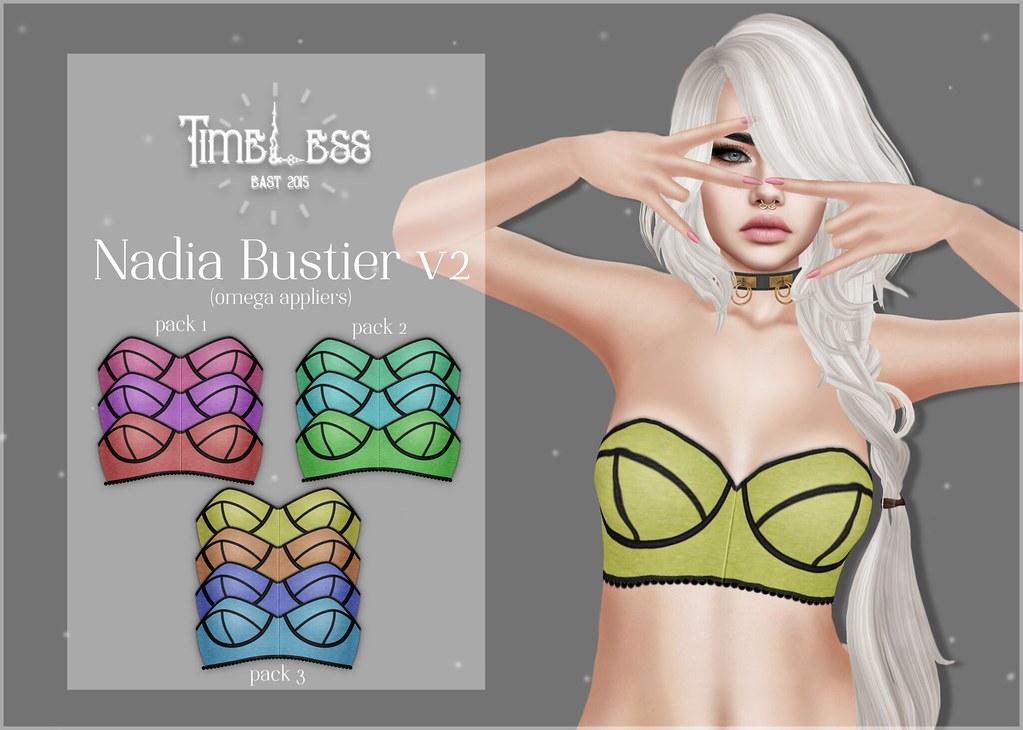 Timeless - Nadia Bustier v2 - TeleportHub.com Live!