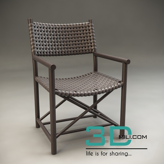 09moulds for garden chair 3d models - Garden Furniture 3d Model