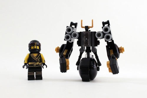 The LEGO Ninjago Movie Quake Mech (30379)