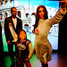 Audrey in Madame Tussaud's