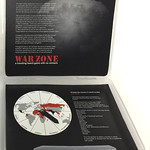 Dorothy Krause; WarZone; Artist book and travelling game; 2017 -