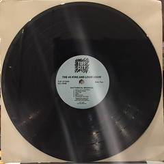 THE 45 KING & LOUIE LOUIE:RYHTHMICAL MADNESS(RECORD SIDE-B)