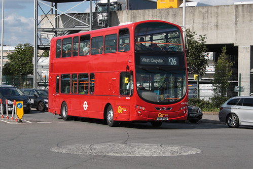 Go-Ahead London WVL334 LX59DDL