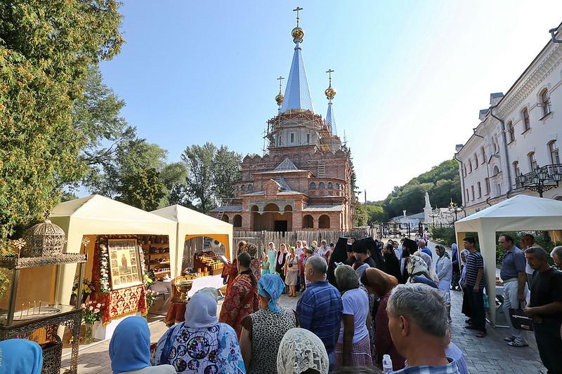 Открытие первой Святогорской ярмарки