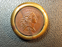 English stacking weight IMG_1243 1793 Wreath cent