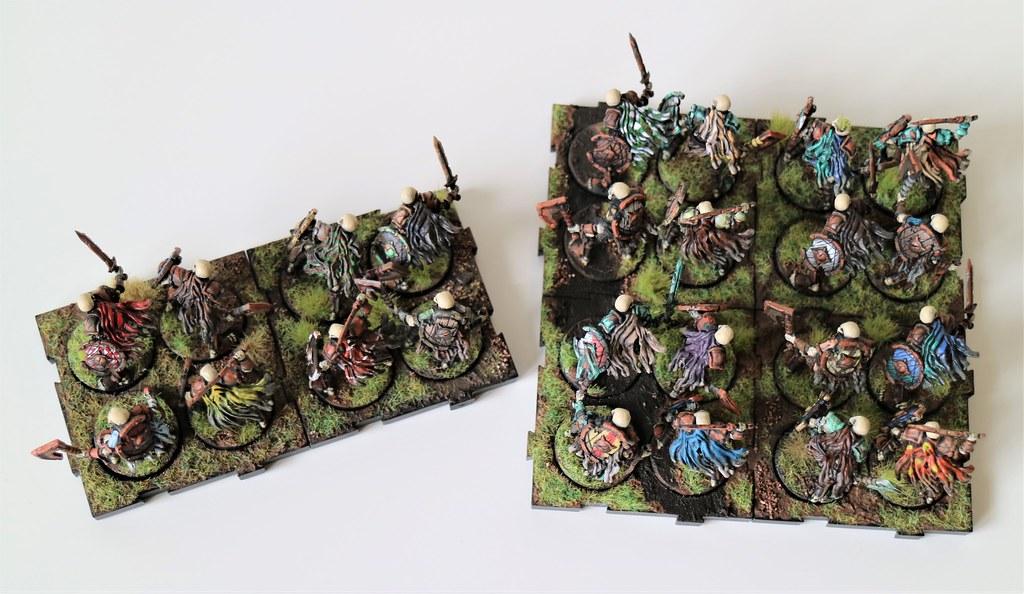 Runewars Miniatures Skeleton Infantry Top