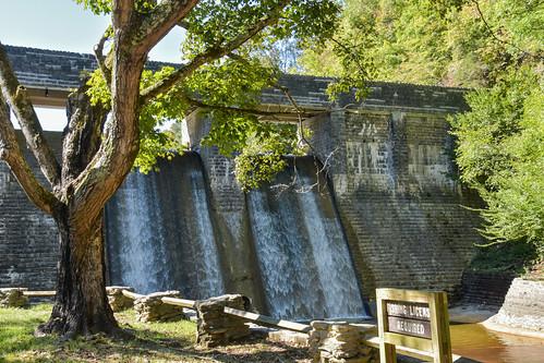The Standing Stone Lake Dam