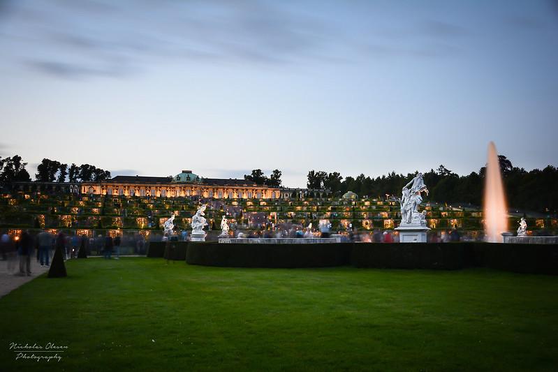 Potsdam | Schloß Sanssouci Blue Hour