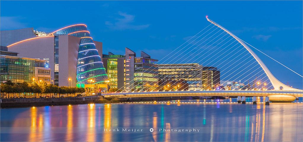 Samuel Beckett Bridge Dublin Ireland The Samuel
