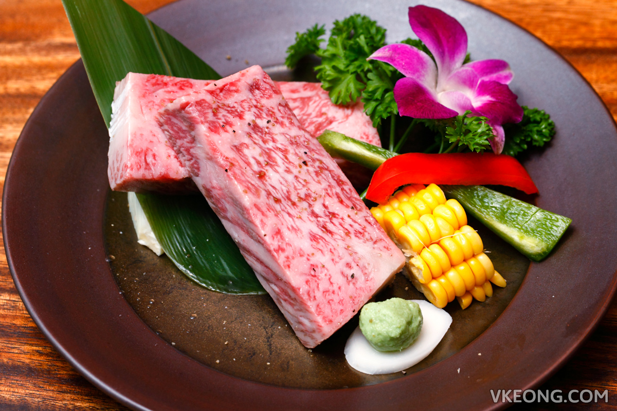 Yakuniku Toraji Wagyu A5 Striploin