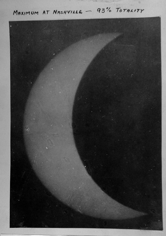 Previous Solar Eclipses viewed in Nashville