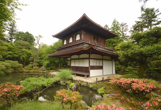 japan itinerary travel guide ginkakuji temple silver pavilion