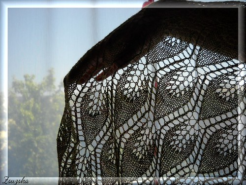 winterleaves, knitting, shawl,