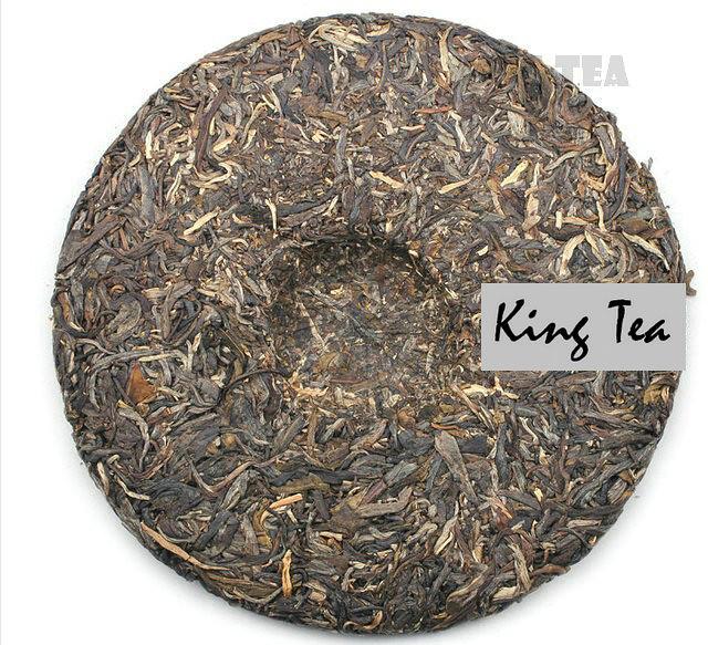 Free Shipping 2013 ChenSheng Beeng Cake Bing BanZhang Arbor 357g YunNan MengHai Organic Pu'er Raw Tea Sheng Cha Weight Loss Slim Beauty