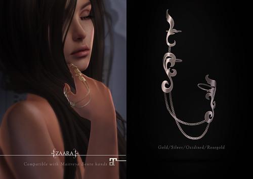 Zaara : Kasita finger-harness for C88 August