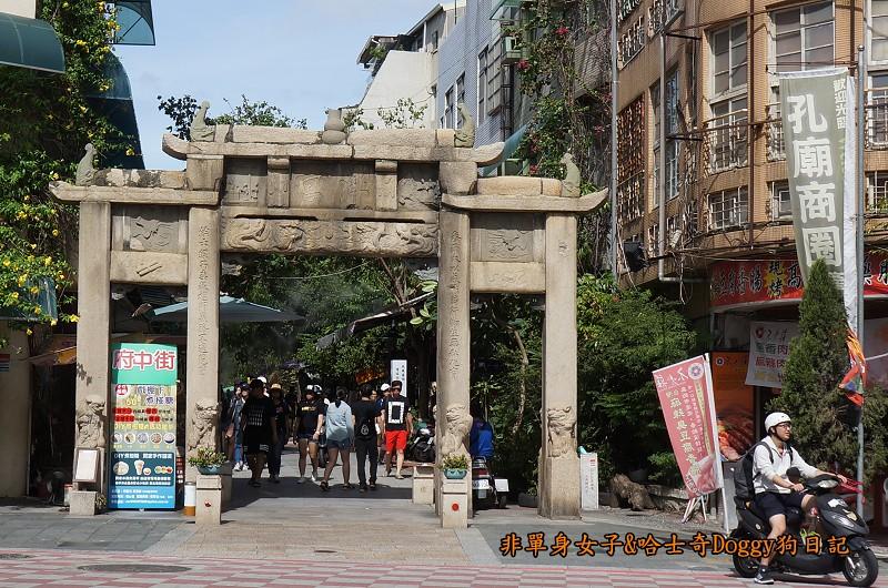 台南孔廟與附近美食15孔廟商圈