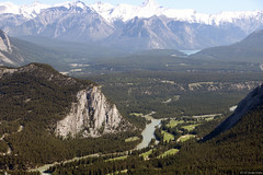 Tunnel Mountain and Bow River
