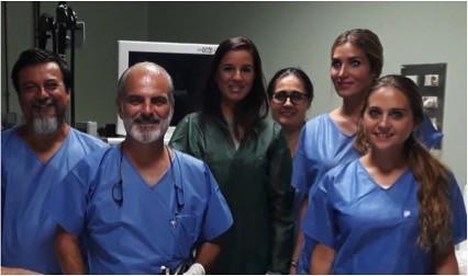 Equipo Aparato Digestivo Endoscopia Hospital San Agustín