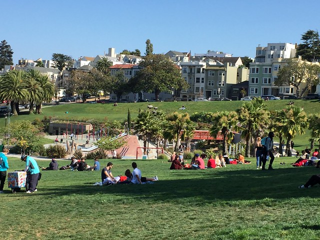 Mission Dolores Park People