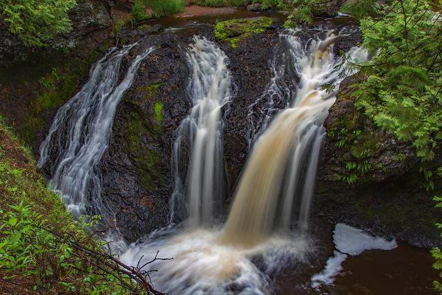 Snake Pit Falls Wisconsin
