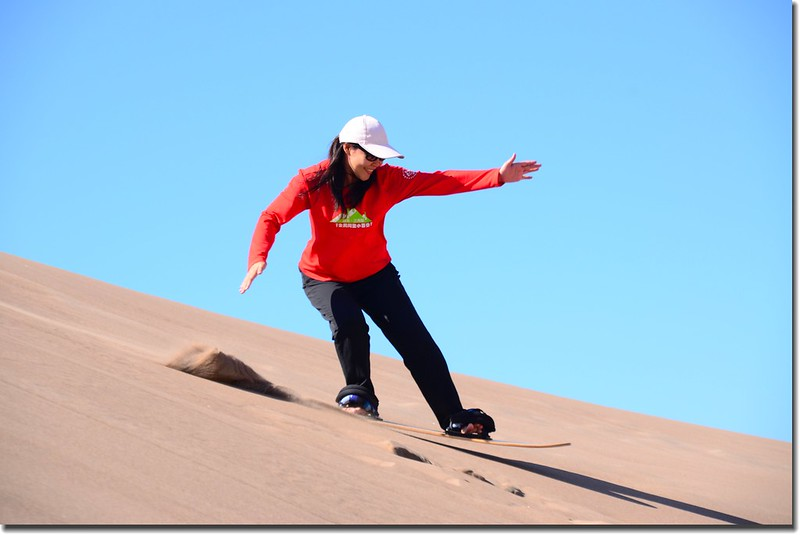 Sledding at Great Sand Dunes  (12)