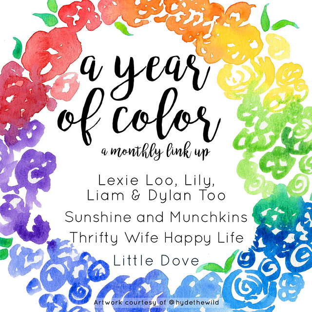 A Year Of Color Monthly Link Party