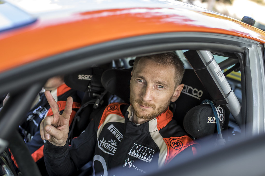 LUKYANUK Alexey (RUS) ARNAUTOV Alexey (RUS) Ford Fiesta R5 ambiance portrait during the 2017 European Rally Championship ERC Barum rally,  from August 25 to 27, at Zlin, Czech Republic - Photo Gregory Lenormand / DPPI