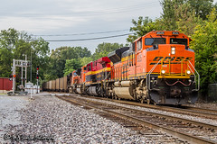 BNSF 8525 | EMD SD70ACe | BNSF Thayer South Division