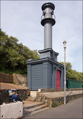 Sandgate beach hut and lighthouse in the Baroque style of Nicholas Hawksmoor  - Pablo Bronstein 2014 (6/17 ay39