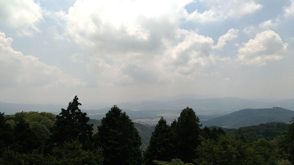 妙見山 景色