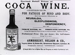 Coca Wine: For Fatigue of Mind and Body