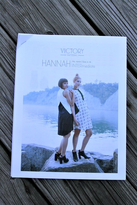 Hannah Dress by Victory Patterns in Rayon Challis