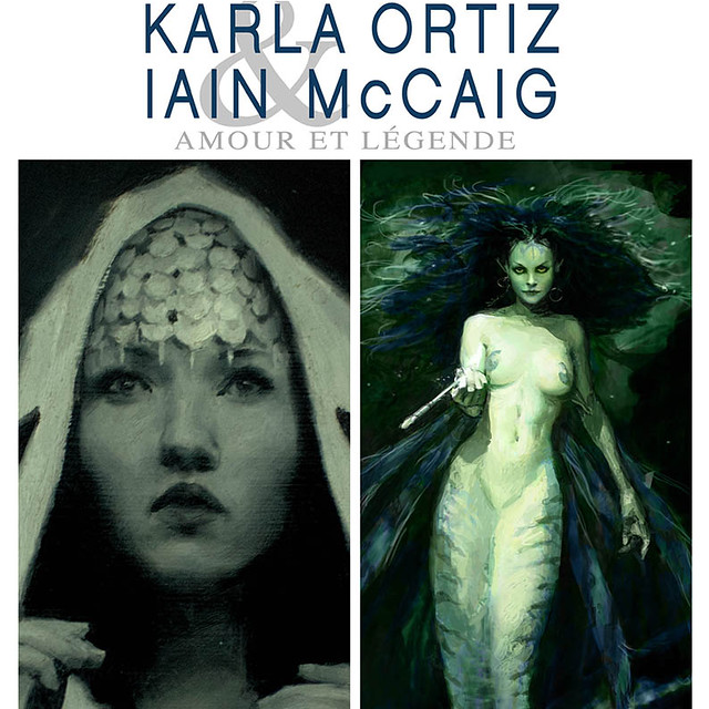 Exposition Karla Ortiz - Iain McCaig : La visite