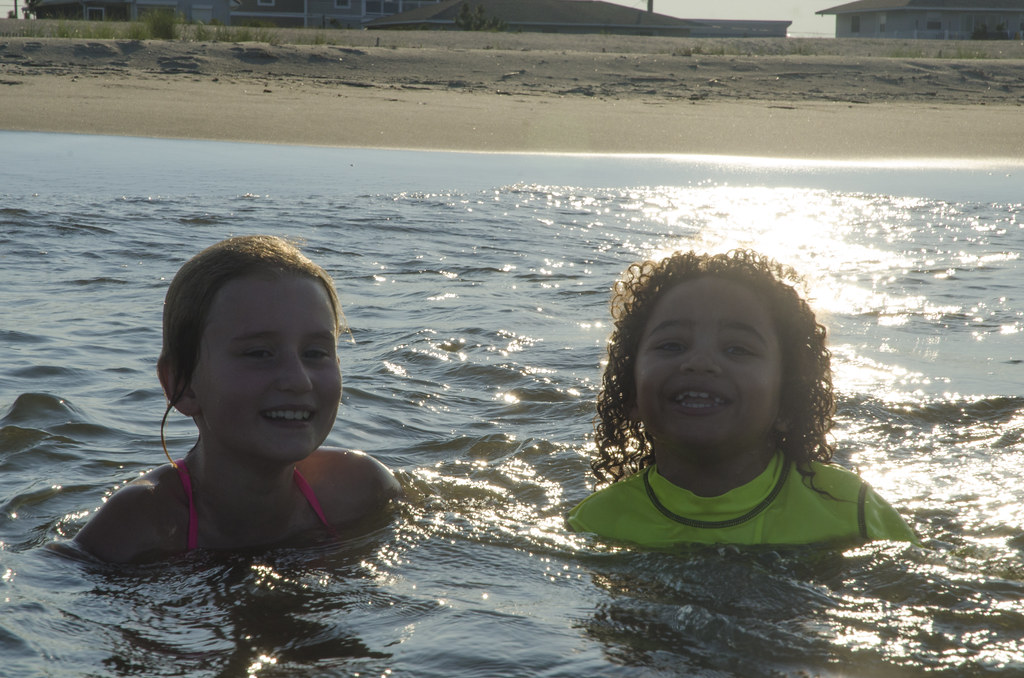 Friends in the Water