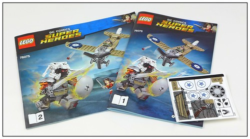 LEGO DC Super Heroes 76075 Wonder Woman Warrior Battle 04