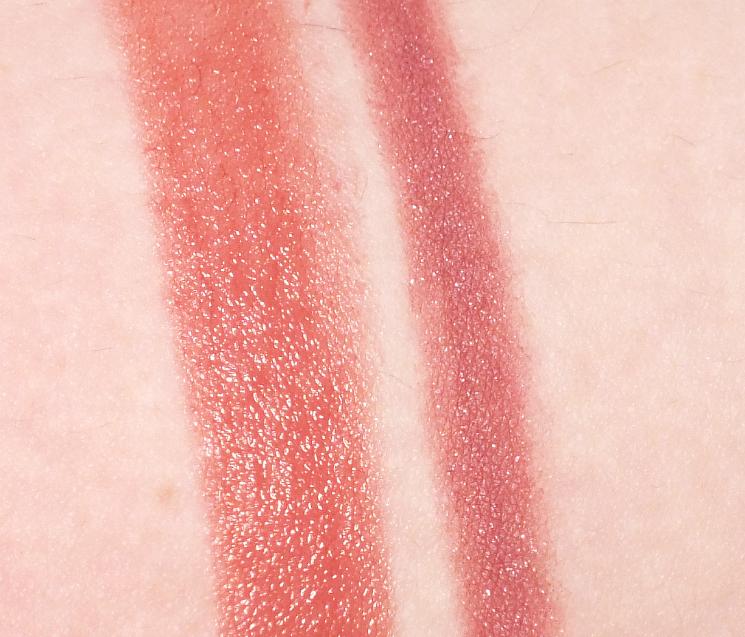 elizabeth arden gelato crush collection plump up lip liner vintage pink plush up lip gloss bare kiss