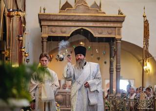 Литургия в Хутынском монастыре 370