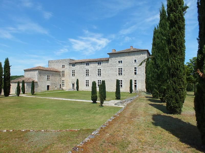 [261-003] Sainte-Croix. Château de Lastours