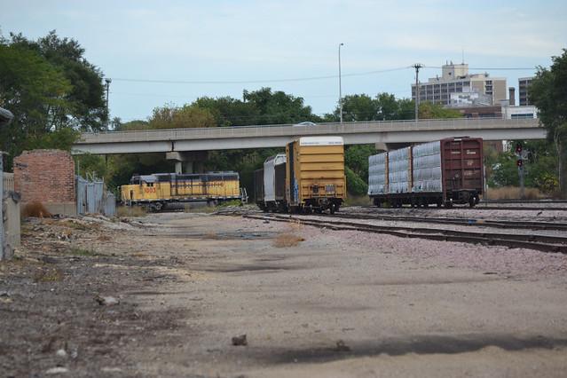 CN west yard in Rockford IL