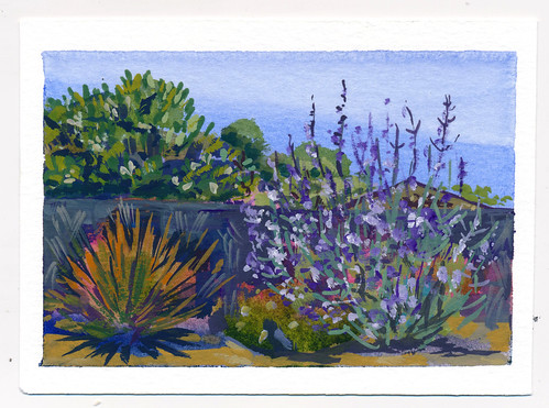 Sketchbook #105: Tiny Gouaches