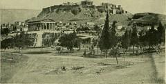 Θησείο και Ακρόπολη, περίπου 1900.