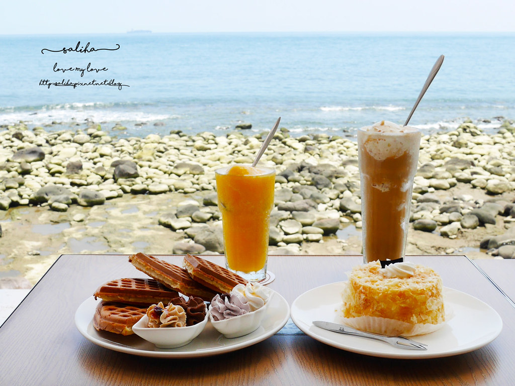新北金山北海岸海景餐廳推薦洋荳子海邊咖啡館 (32)