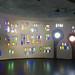 Hundertwasser-Market Hall, Bottles wall.  Staad-Altenrhein, Switzerland