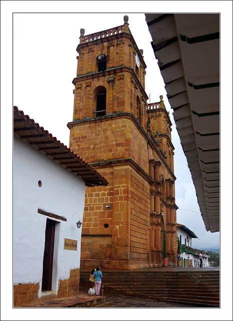 Barichara sous une pluie tropicale / Colombie