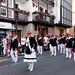 Desfile del alarde tradicional
