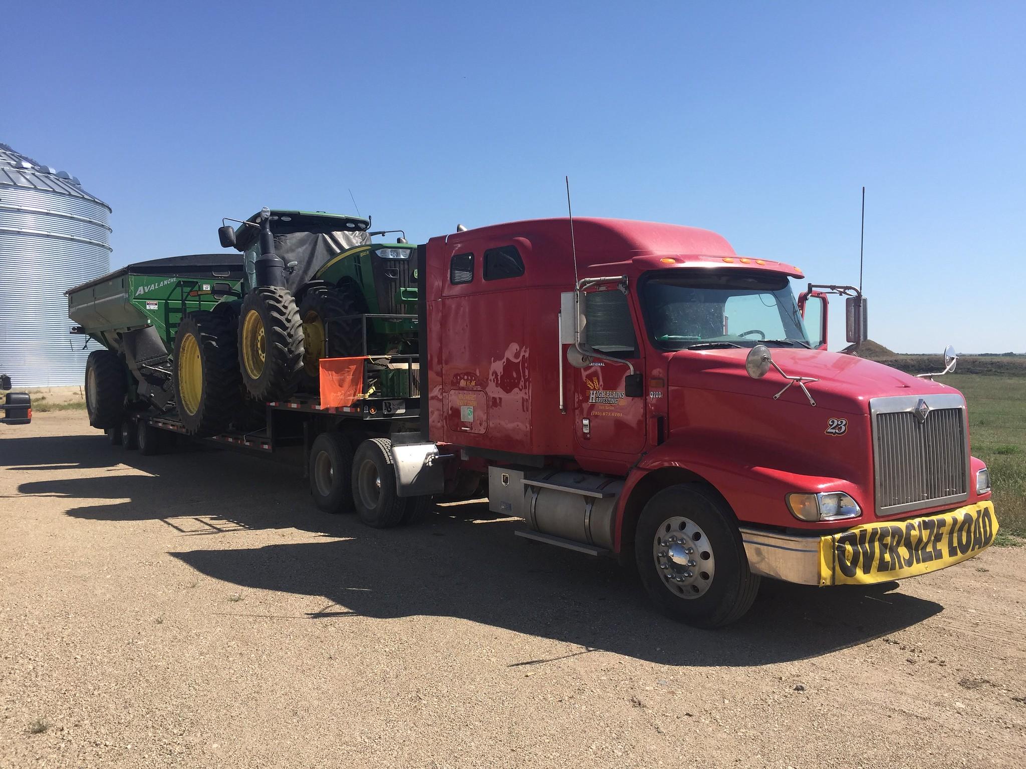 High Plains Harvesting - Photo from Ryan
