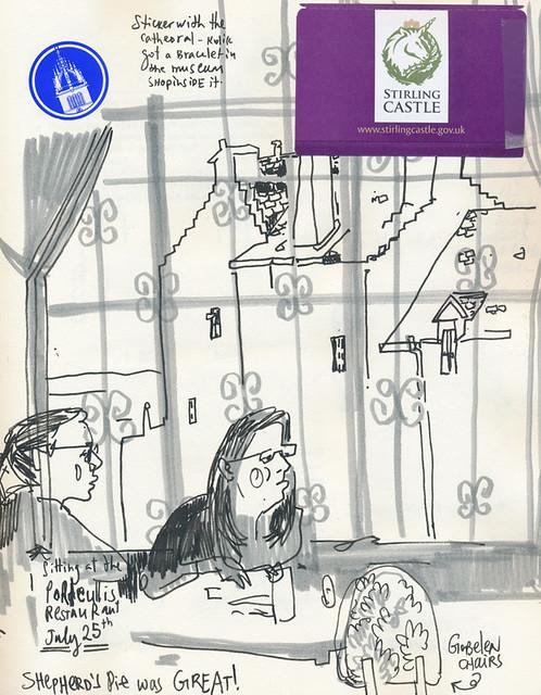 Sketchbook #107: Trip to Scotland