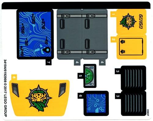 LEGO City Jungle 60160 Jungle Mobile Lab 08